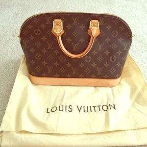 Louis vuitton alma handbag monogram