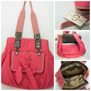 Alexis Hudson  Handbags - **Alexis Hudson Coral Scarlet Bag MAKE OFFER**
