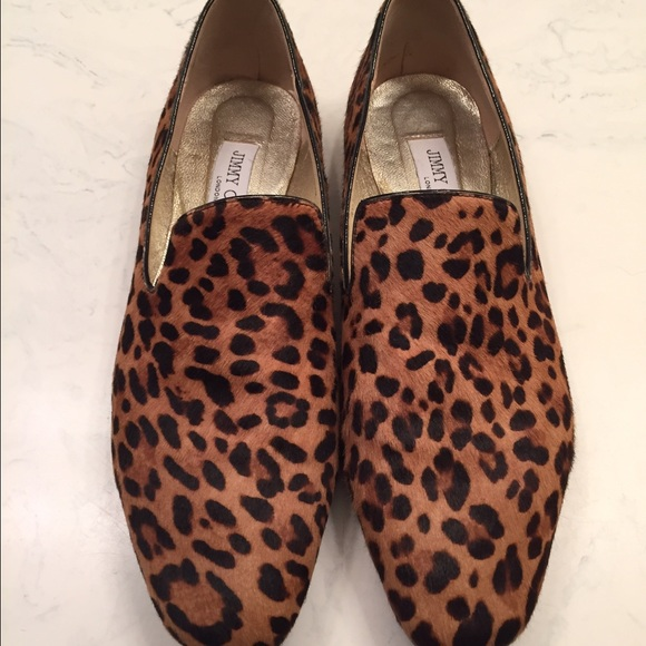 store sale online Jimmy Choo Leopard Ponyhair Loafers free shipping 2014 newest online cheap sale buy discount new OQRcS8