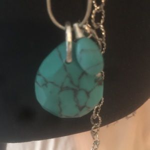 Free People Jewelry - ⚡️SALE⚡️HANDMADE STERLING 925/TURQUOISE TODAY ONLY