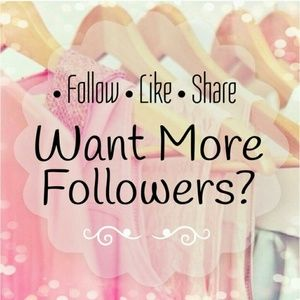 Want more followers ? JOIN MY FOLLOW GAME :) FG