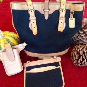 Authentic Dooney & Bourke Cabriolet Bucket Bag