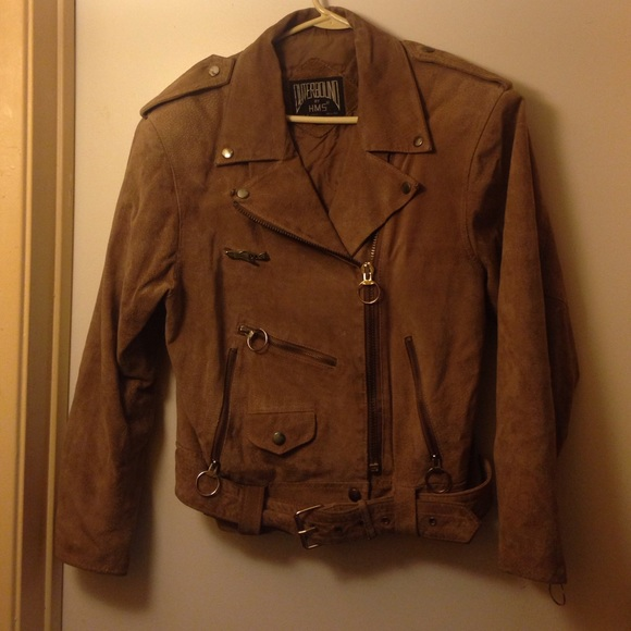 88% off Outerbound by HMS Jackets & Blazers - Vintage Brown Suede ...