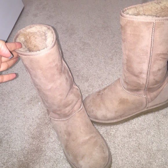 Size 8 Light Pink Tall Uggs