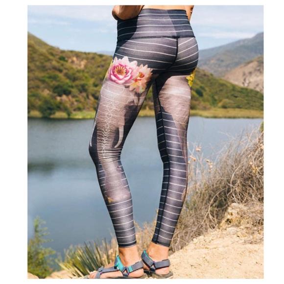 3a86fa5dfb Urban Outfitters Pants | Teeki Love The Elephant Hot Pant Yoga ...