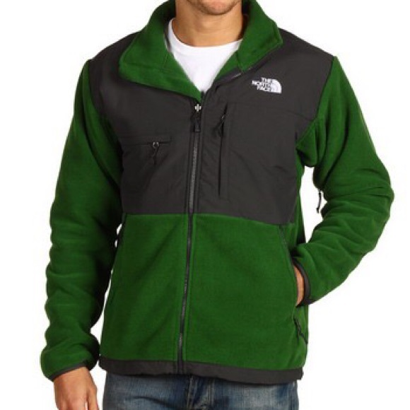North Face Denali Jacket Color Block Green   Black.  M 563be96a4e8d172459002241 ce60d3194d32