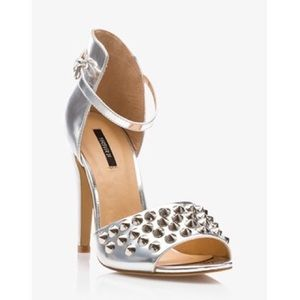F21 // Spike Metallic Sandals