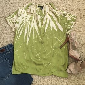 Kenneth Cole Tops - Kenneth Cole blouse with shoulder cut out