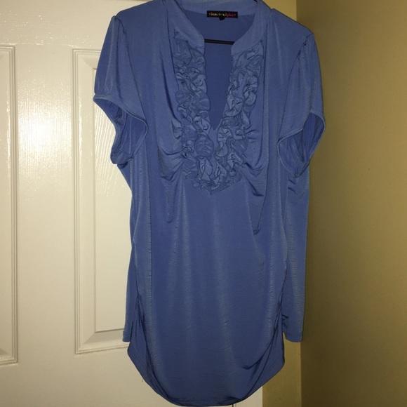 ffc7e9f120cd87 HeartSoul Tops - Heartsoul Plus blouse