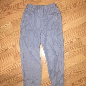 Denim look pants from H&M size 2, new with tags