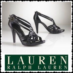 🎉HP 7/13🎉Ralph Lauren Farima Vachetta Sandals