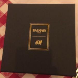 BALMAIN x H&M chandelier Crystal earrings