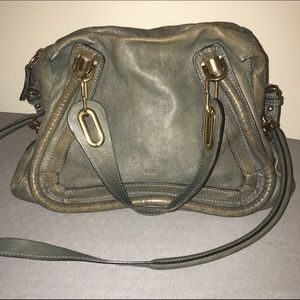 chloe satchel handbag - Chloe Paraty Handbags on Poshmark