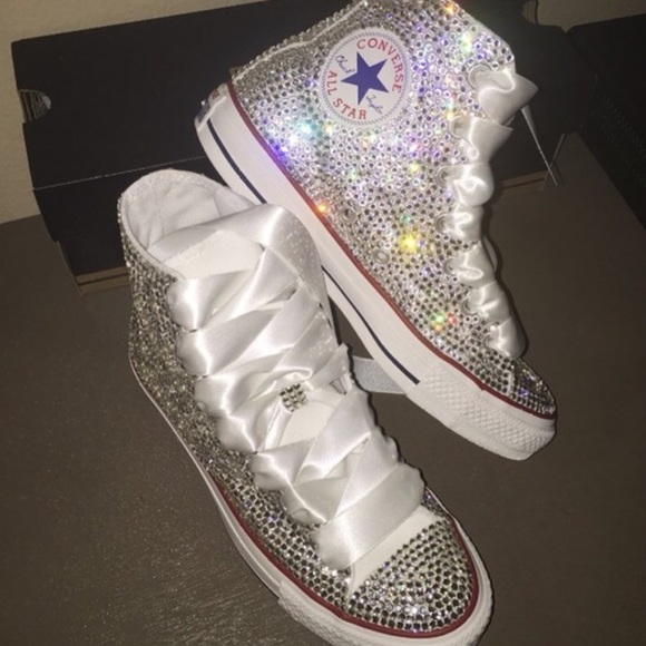 f19088758533 Converse Shoes - CUSTOM Bling Converse