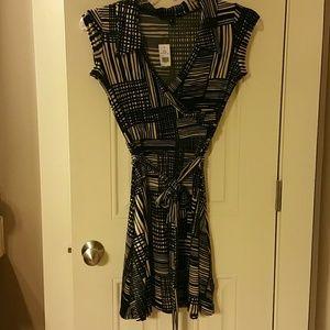 Snap Dresses & Skirts - black and khaki dress