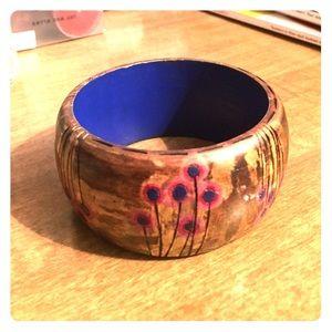 Jewelry - Handmade Wooden Bangle