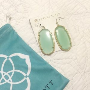 New Kendra Scott Danielle Earrings in Mint