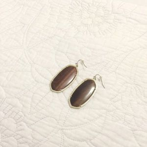 Kendra Scott Danielle Earrings in Brown