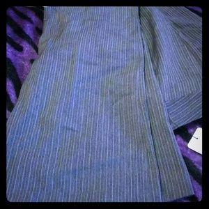 Pants - Really cute pin stripe pants grey