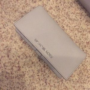 Michael Kors Handbags - Michael Kors gray wallet