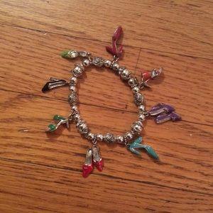 Jewelry - Colorful Beaded Shoe Bracelet