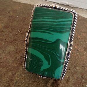 Jewelry - HANDMADE MELAKITE RING
