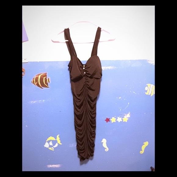 Body Central Dresses & Skirts - SALE!!!🎉🎉🎉Silk Black Dress