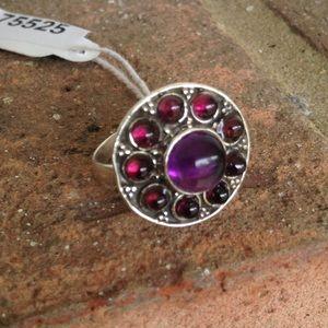 Jewelry - 6.27 PURPLE AMETHYST GARNET RING
