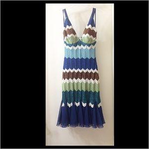 Cache Multi Color Dress, Size Small