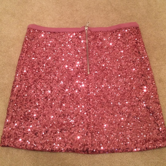 40% off Forever 21 Dresses & Skirts - Pink sequin mini skirt. from ...