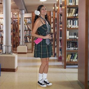 "Dresses & Skirts - ""Looking Smart"" Oxford Plaid Dress"