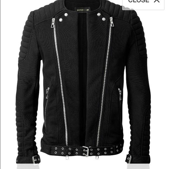 5b8d82fe065c5 Balmain Jackets & Coats | X Hm Mens Jacket | Poshmark