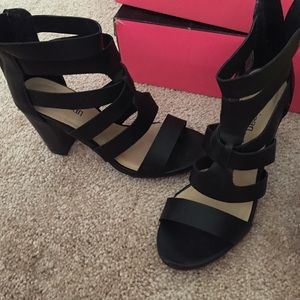 Black wedges Cathy Jean