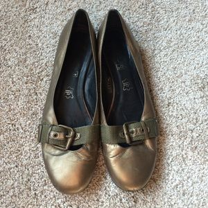 Andre Shoes - FINAL PRICE - Metallic Flats