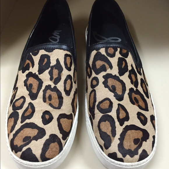 e2763124b80af6 Sam Edelman Becker leopard slip on sneaker