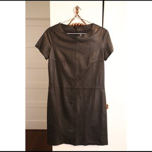 Zadig&Voltaire Leather Dress Size Small.