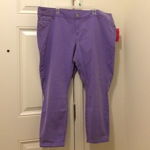FINAL NEW Candie's Purple Skinny Jeans 24 (22!)