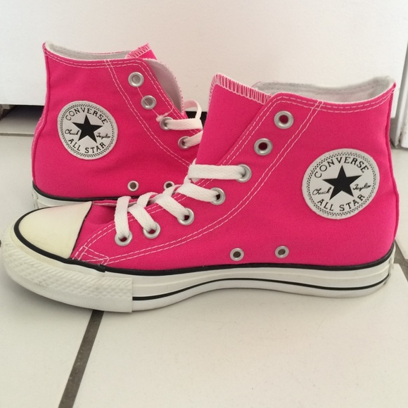 054f90c1f8f Converse Shoes - Hot Pink High Top CONVERSE