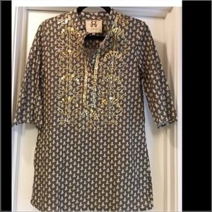Figue Tops - Figue Tunic with sequin detail