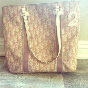Dior Handbags - Christian Dior Monogram Tote
