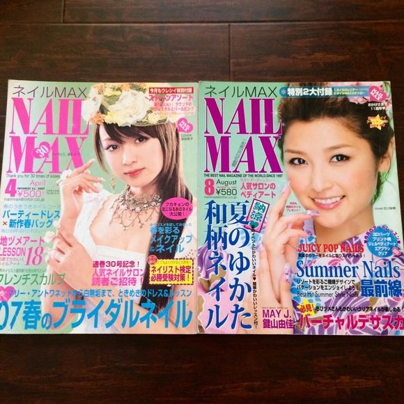 Other 2 Kawaii Japanese Nail Art Magazine Books Poshmark