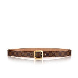 JUST REDUCED! Authentic Louis Vuitton Damier Belt!