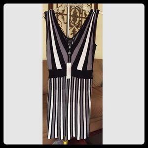 Belldini Dresses & Skirts - Black & White Mini Dress