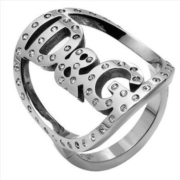 92e9beab585c Dolce   Gabbana fashionable woman s ring. NWT. D G