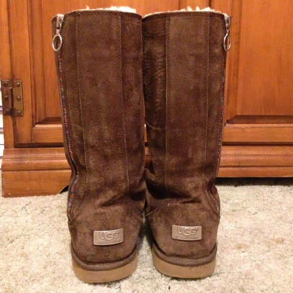 Ugg Boots With Zipper
