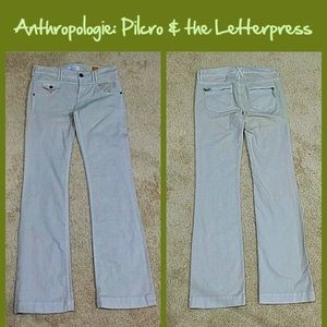 Anthro Vintage Slims by Pilcro