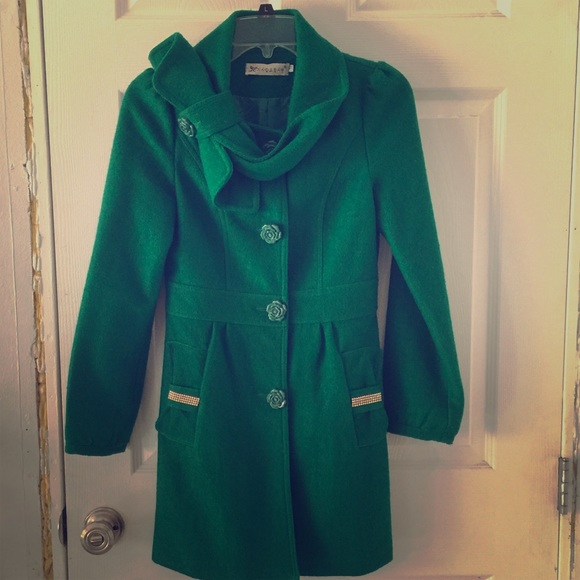 88% off Michael Kors Jackets &amp Blazers - NWOT🎄EMERALD GREEN