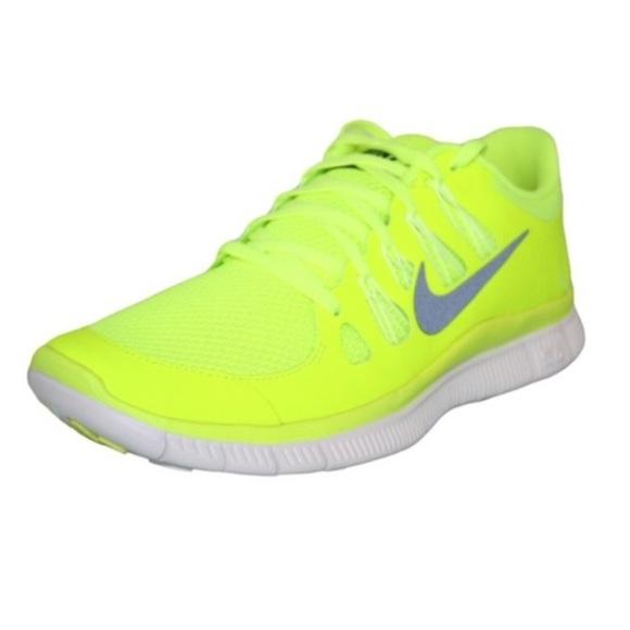 Nike Yellow Neon Running Shoes