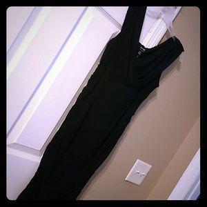Mini black dress