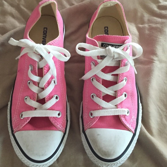 e1f8cac9c49c5d Converse Shoes - Converse pink size 3 great shape